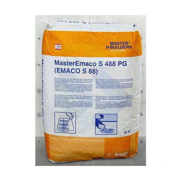 Ремонт бетонных поверхностей смесями эмако бетон высоких марок